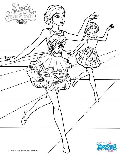 Coloriage barbie et la porte secrete meilleures id es - Barbie et la porte secrete film complet ...