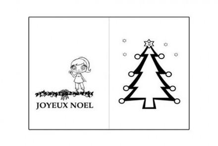 Cartes-de-voeux-de-Noel-a-colorier-Le-sapin-et-la-petite-fille.jpg