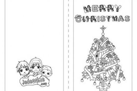 Cartes-de-voeux-de-Noel-a-colorier-Merry-Christmas-et-le-sapin.jpg