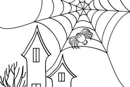 Coloriage-ARAIGNEE-HALLOWEEN-araignee-devant-chateau-halloween.jpg