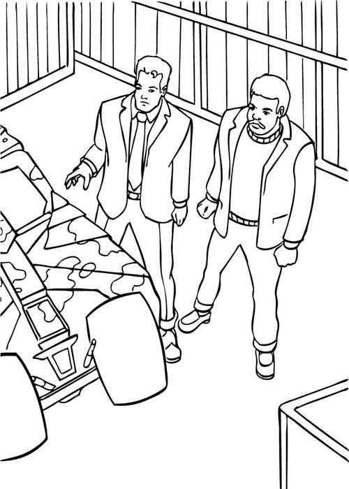 Coloriage-BATMAN-Bruce-et-son-ami-dans-le-garage.jpg