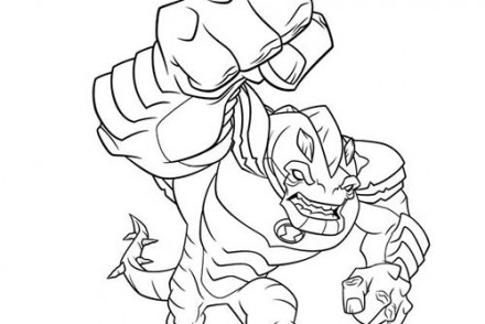 Coloriage-BEN-10-ALIEN-FORCE-Coloriage-de-Humongousaur.jpg