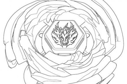 Pin dessin toupie beyblade imprimer gratuit galerie - Coloriage toupie beyblade ...