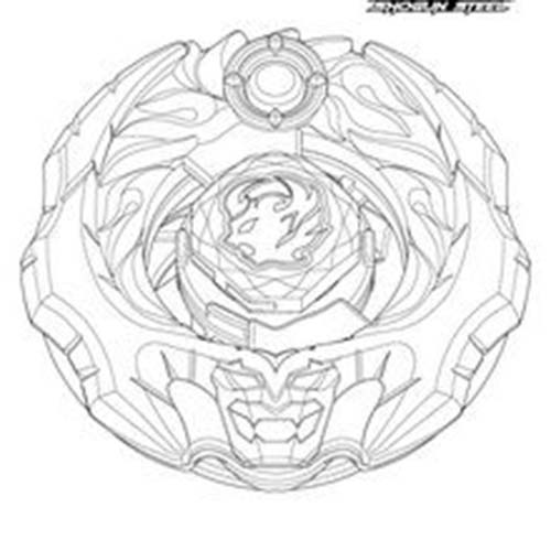 Coloriage beyblade ifrit - Toupie dessin ...