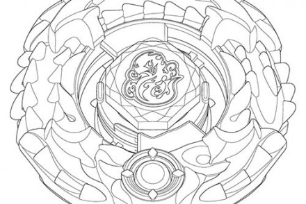 Coloriage beyblade imprimer 1001 - Coloriage toupie beyblade ...