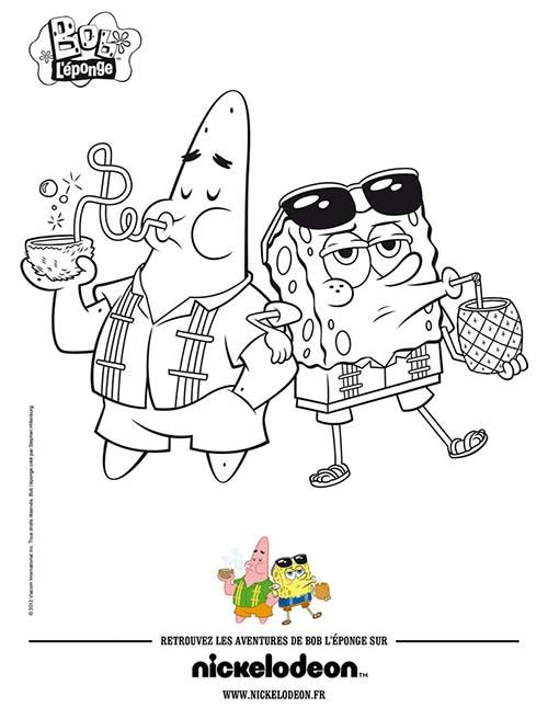 Coloriage-BOB-LEPONGE-Coloriage-BOB-LEPONGE-ET-PATRICK-a-la-plage.jpg