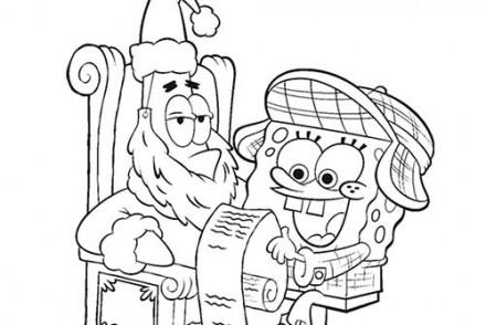Coloriage-BOB-LEPONGE-La-liste-de-cadeaux-de-Noel.jpg