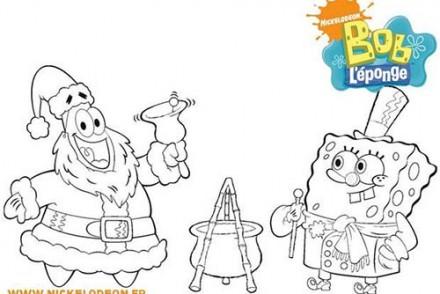 Coloriage-BOB-LEPONGE-Patrick-et-Bob-fetent-Noel.jpg