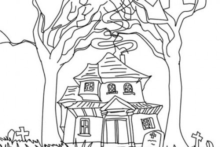 Coloriage-CHATEAU-HALLOWEEN-Maison-POSSEDEE-a-colorier.jpg