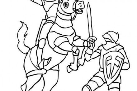 Coloriage-CHEVALIERS-ET-DRAGONS-Combat-de-chevaliers.jpg