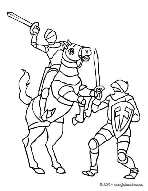 Coloriage-CHEVALIERS-ET-DRAGONS-Combat-de-chevaliers.jpg