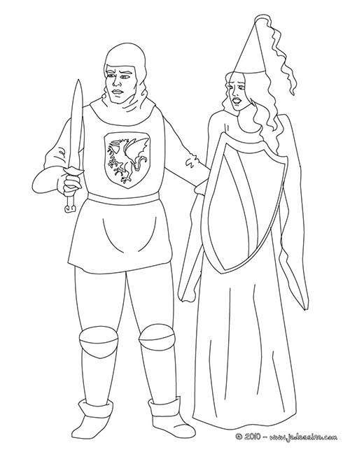 Coloriage-CHEVALIERS-ET-DRAGONS-Le-chevalier-sauve-une-princesse.jpg