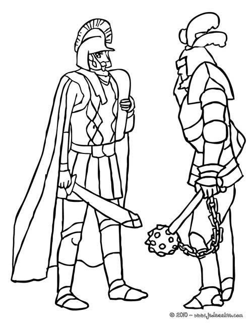 Coloriage-CHEVALIERS-ET-DRAGONS-Rencontre-entre-deux-chevaliers.jpg