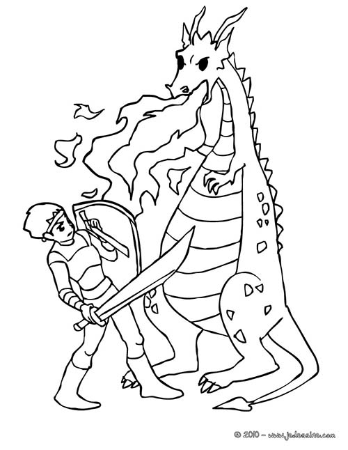 Coloriage-CHEVALIERS-ET-DRAGONS-Un-chevalier-qui-combat-les-flammes-du-dragon.jpg