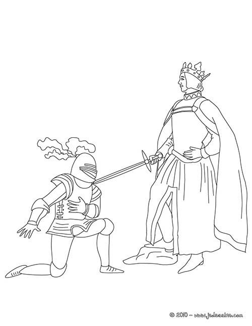 Coloriage-CHEVALIERS-ET-DRAGONS-Un-chevalier-se-fait-adouber.jpg