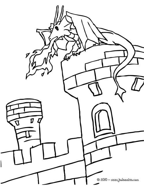 Coloriage-CHEVALIERS-ET-DRAGONS-Un-dragon-sur-un-chateau-fort.jpg