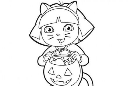 Coloriage-DORA-Coloriage-de-Dora-deguisee-pour-Halloween.jpg