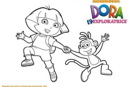Coloriage-DORA-Coloriage-de-Dora-et-Babouche-main-dans-la-main.jpg