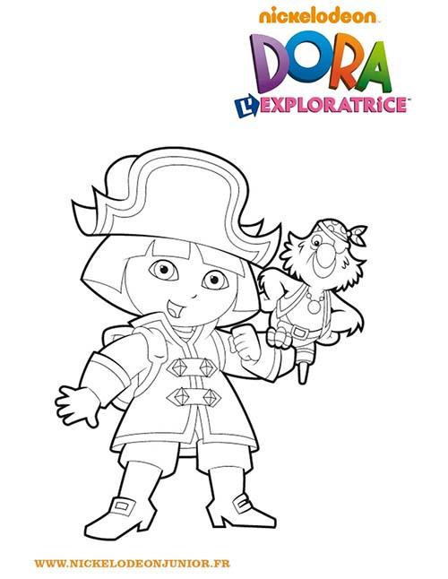 Coloriage-DORA-Coloriage-de-Dora-habillee-en-pirate.jpg