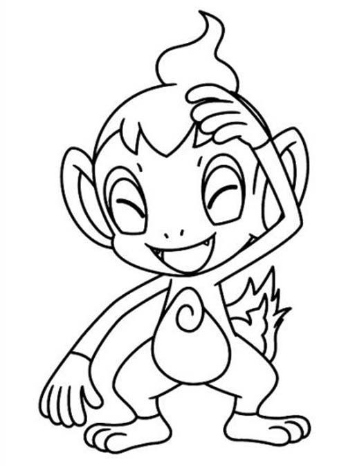 Coloriage gratuit des membres de jedessine dessin pokemon ouisticram - Jedessine coloriage ...