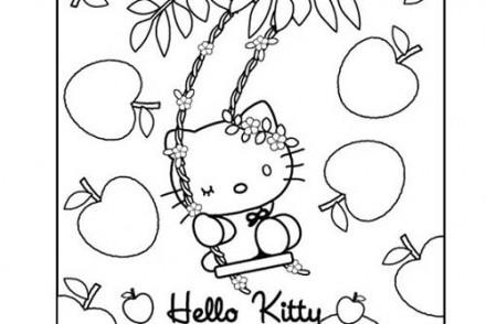 Coloriage-HELLO-KITTY-Coloriage-de-Hello-Kitty-au-milieu-des-fruits.jpg