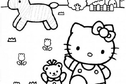 Coloriage-HELLO-KITTY-Coloriage-de-Hello-Kitty-dans-les-champs.jpg