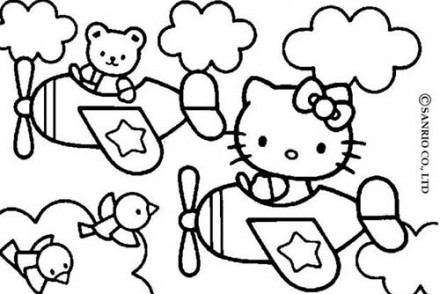 Coloriage-HELLO-KITTY-Coloriage-de-Hello-Kitty-en-avion.jpg