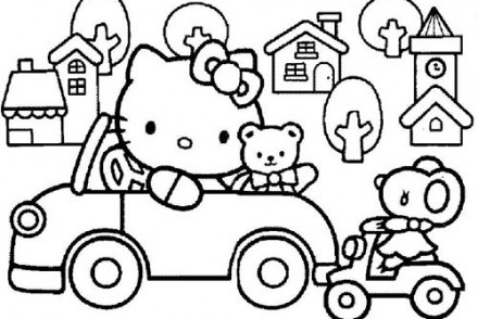 Coloriage-HELLO-KITTY-Coloriage-de-Hello-Kitty-en-voiture.jpg