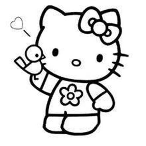 Coloriage hello kitty coloriage de hello kitty et son parapluie - Coloriage hello kitty et mimi ...