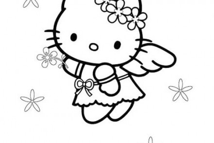 Coloriage-HELLO-KITTY-Coloriage-de-Hello-Kitty-petit-ange.jpg