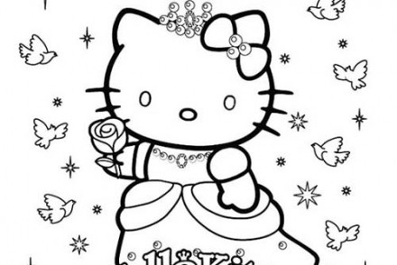 Coloriage hello kitty imprimer 1001 - Coloriage hello kitty a colorier ...