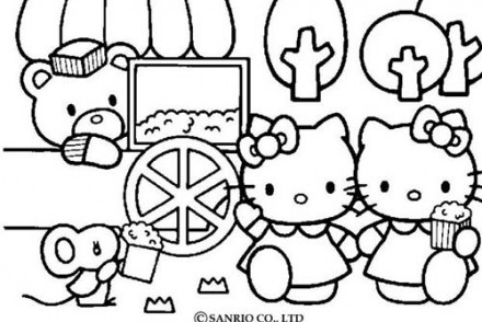 Coloriage-HELLO-KITTY-Hello-Kitty-chez-le-vendeur-de-Pop-Corn.jpg