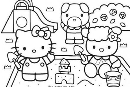 Coloriage-HELLO-KITTY-Hello-Kitty-joue-dans-le-sable.jpg