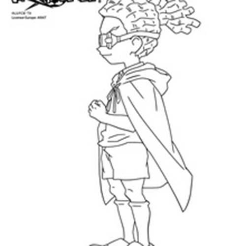 Coloriage inazuma eleven jude sharp de dos - Dessin anime de inazuma eleven ...