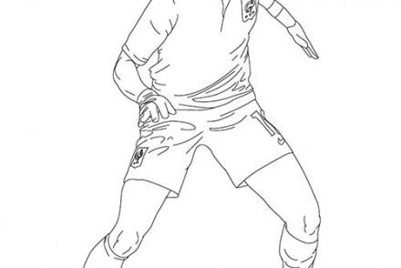 Coloriage joueurs de foot didier drogba - Image de joueur de foot a imprimer ...