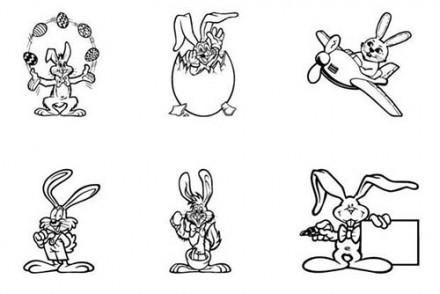Coloriage-LAPINS-DE-PAQUES-Coloriage-de-lapins-jongleur-aviateur-surprise.jpg