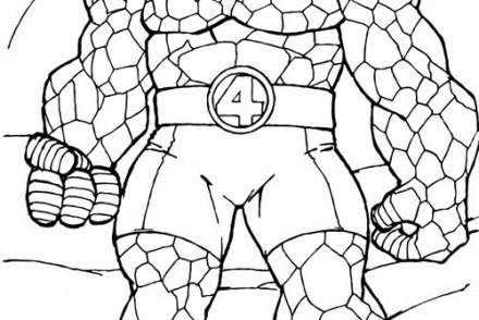 Coloriage-LES-4-FANTASTIQUES-Lhomme-de-pierre.jpg