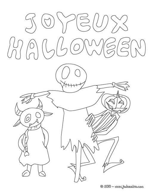 Coloriage monstre halloween joyeux halloween a imprimer - Dessin monstre halloween ...