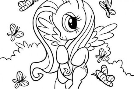 Coloriage papillon imprimer 1001 - My little pony gratuit ...