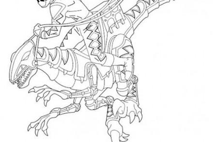 Coloriage power rangers imprimer 1001 - Coloriage robot dinosaure ...