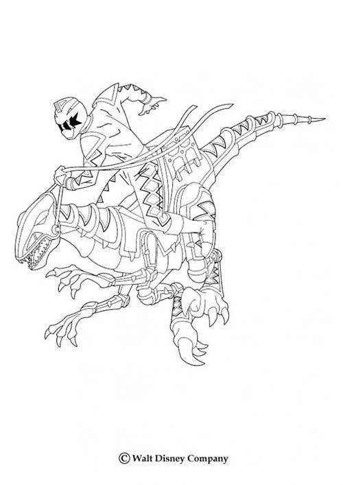 Coloriage power rangers dino robot - Coloriage robot dinosaure ...