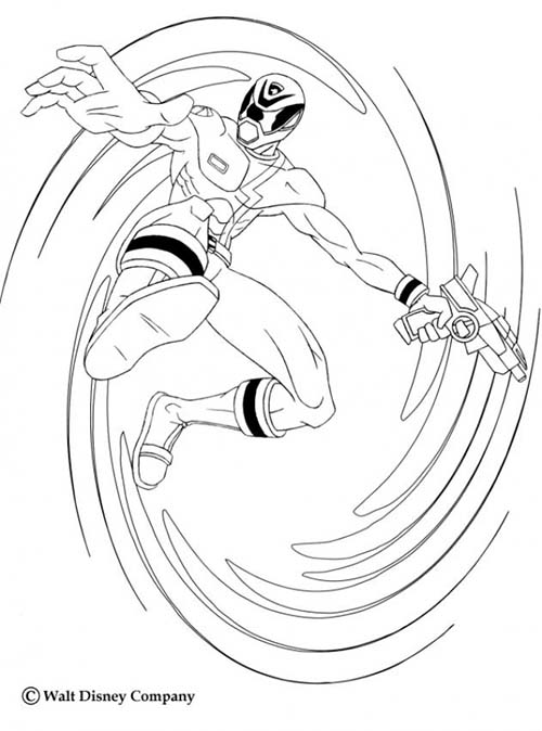 Coloriage power rangers le tourbillon du ninja - Power rangers samurai dessin ...