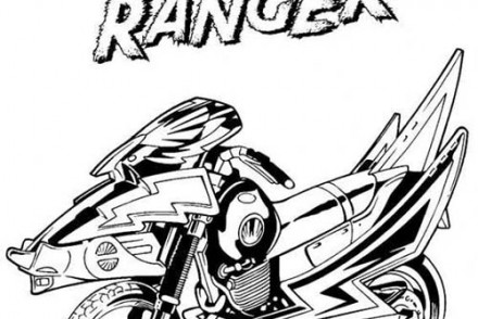 Coloriage power rangers le super quad - Power rangers samurai dessin ...