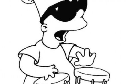 Coloriage-SIMPSON-Coloriage-de-Bart-et-la-musique.jpg