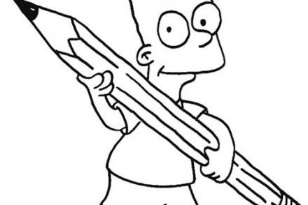 Coloriage-SIMPSON-Coloriage-du-crayon-de-Bart.jpg