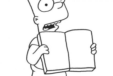 Coloriage-SIMPSON-Coloriage-du-livre-de-Bart.jpg