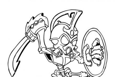 Coloriage skylanders trap team jawbreaker - Coloriage skylanders giants ...