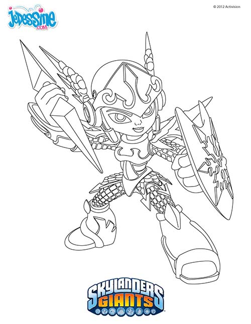 Coloriage skylanders giants coloriage chill - Coloriage skylanders giants ...