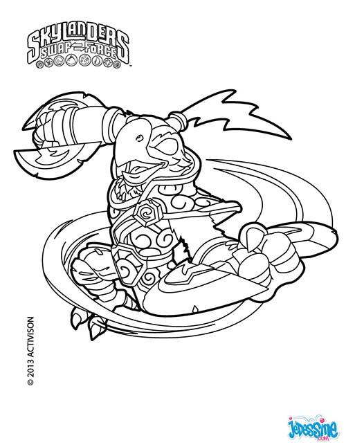 skylanders snapshot coloring pages - photo#24