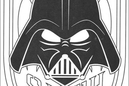 Coloriage star wars coloriage star wars du retour au vaisseau - Dark vador coloriage ...